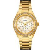 Relógio Guess Gc W0729l2 Dourado Garantia 12x Sem Juros