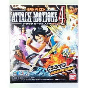 Boneco One Piece Luffy Attack Motion 4 - Bandai