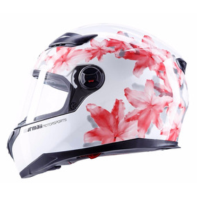 Capacete Feminino Mormaii Willy Fs811 Wished Viseira Solar