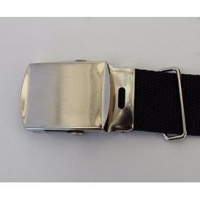 10 Cinturones Militar Tactico Hebilla Laton Plata