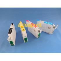 Cartuchos Rellenables Para Epson Xp101 Xp201 Xp211 Xp214 Xp