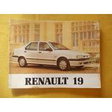 Manual Usuario De Fabrica Renault 19