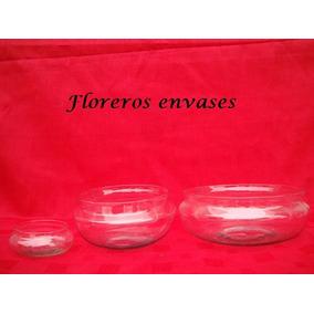 5 Boinas De 20cm De Vidrio - Bochines - Bochas - Cilindros