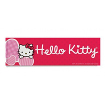 Cuadro Decorativo Hello Kitty Corazon Para Niña