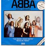 Abba Estoy Sonando Maxi Only Uruguay Vinilo 12 En Español