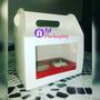 Caja Cajita Feliz Cotillón Con Visor En Acetado