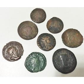 Lote 8 Moedas Antigas Império Romano High Quality - 2