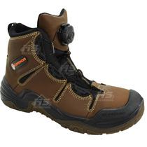 Zapato Bota Berrendo Industrial Casco De Acero Cordon Ajusta