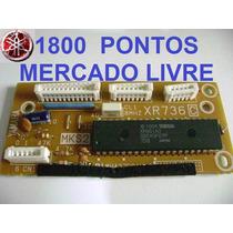 Placa De Comando Das Teclas Yamaha Psr-620 Xr 736 Mks Nova