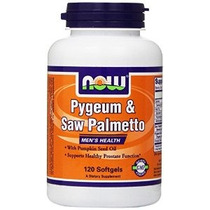 Now Foods Ciruelo Africano Y Saw Palmetto De Semillas De Cal