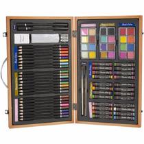 Estuche Lapices Colores Dibujo Pastel 80 Pz Arte Importado