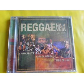 Cd Reggae Na Veia Ao Vivo / Novo