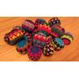 Set De 3 Pelotas Tejidas En Crochet Para Malabares Y Circo