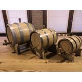 Barriles Toneles Barricas Chopp P/vinos De Roble De 2lts