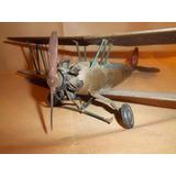 Arte De Trinchera, Avion Biplano Circa 1915