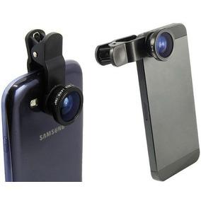 Lente Fisheye 180º Olho De Peixe Iphone Ipad Galaxy Tablet