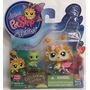 Littlest Pet Shop Pack 2 Figuras De Listening Garden Unico!