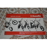 Zanella New Fire Sol Zcarga Crazy Manual De Uso Original