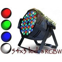 Par Led 64 Rgbw 3wts Dmx Refletor 54 Leds