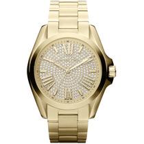 Relógio Michael Kors Mk5738 Luxo Dourado Original Garantia.