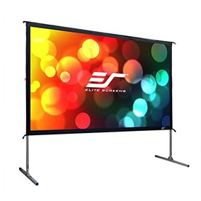 Elite Screens Yard Master 2 135 Pulgadas 16: 9 Plegable Al A
