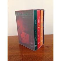 Pack H.p. Lovecraft Obras Completas X 4 Libros - Ne