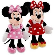 Mickey Ou Minnie 35 Cm - Pelúcia Original Disney No Brasil