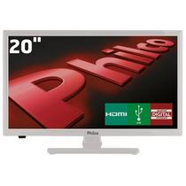 Tv Led 20 Hd Philco Ph20u21db Receptor Digital Entrada Usb