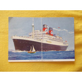 545-barco Blue Star Pub.lujo-no Emigrante De 2a Clase!
