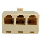Divisor Splitter Telefonico De 3 Salidas Rj11