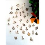 Dijes Metalicos Surtidos Metal Souvenir Decoracion X10u