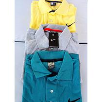 Kit 6 Camisa Gola Polo Nike Camiseta Cores