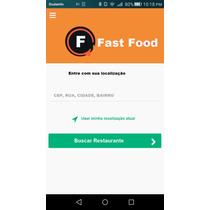 Aplicativo Restaurantes,pizzarias,lanchonetes,delivery Ifood