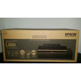 Impresora Epson L800 Sistema Continuo De Fábrica Original