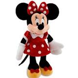 Minnie Mouse Vestido Vermelho Original 68 Cm Tamanho Grande