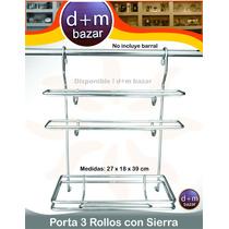 Dispenser Porta Rollo Cocina Papel Film Aluminio - Barral