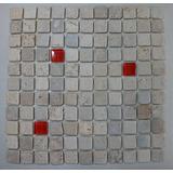 Mosaico Venecitas De Travertino C/ Vidrio !!p/baños, Duchas