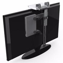 Soporte Dvd Adosable Al Tv Conversor Decodificador Plegable