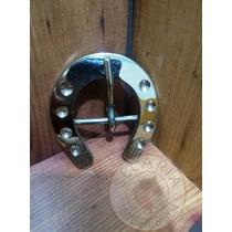 Fivela Inox Ferradura Tam G Larg 6.6cm Comp 7.2cm Passad44mm