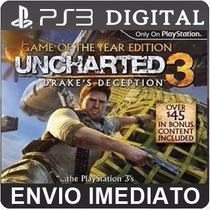 Uncharted 3 Drakes Deception Ps3 Psn Dublado Br