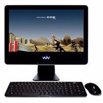 Computador Cce Solo 19 Tv Com Intel® Atom D510, 2gb, 320gb