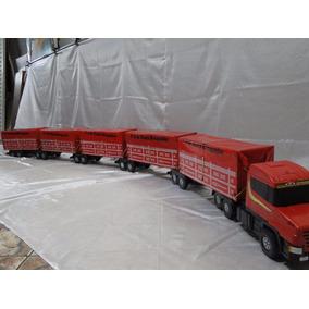 Comprido Quase 03 Metros 05 Carretas Scania Bitrem 13 Eixo