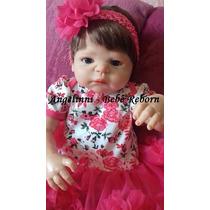 Bebê Reborn - Yasmin - Molde Victória Pronta Entrega