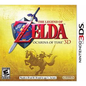 The Legend Of Zelda A Ocarina Of Time Nintendo 3ds Seminovo