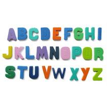 Kit 2 Alfabetos Colorido Médio Em Eva- 6cm