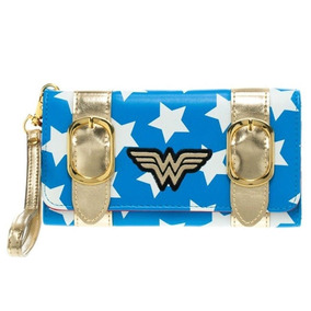 Wonder Woman Exclusiva Billetera Wristlet Dc Comics Original