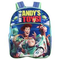 Boys Toy Story Grande Mochila Azul Gran Escuela 16 -inchescu