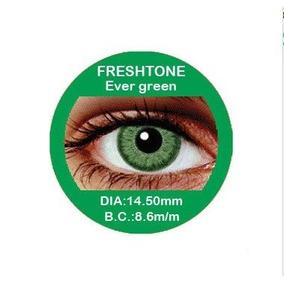 Lentes De Contato Freshtone 50 Cores Descarte Semestral