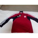 Blusa Moletom De Treino adidas Flamengo Tamanho G