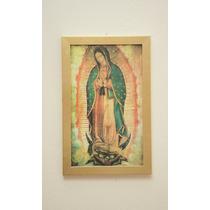 Cuadro Virgen Guadalupe Pvc Calidad 32 X 50 Enmarcado